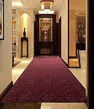Korridor Teppich Eingangsmatten, Absorbent Rutschfeste Treppenmatten können geschnitten werden, Flur Flur Teppich Fußmatte (1-20 Meter) Couchtisch Teppich ( größe : 1.2*12m )