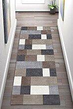 Korridor Teppich- Geometrische Flur Läufer