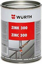Korrosionsschutzlack Zink 300 - 500ml - Schützt dauerhaft vor Korrosion - findet Anwendung im Stahlbau, Schiffsbau, Schmieden, Schlossereien und Fahrzeugbau.