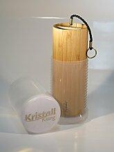 Koshi Klangspiel AQUA / Wasser + Transport-Box, Windspiel, Klangtherapie, Gartendeko, Glockenspiel