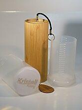 Koshi Klangspiel TERRA / Erde + Transport-Box, Windspiel, Klangtherapie, Gartendeko, Glockenspiel