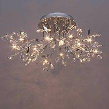 KosiLicht - Deckenleuchte - Chrom Kristall