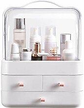 Kosmetik-Aufbewahrungsbox - Transparente tragbare