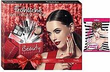 Kosmetik und Schminke Adventskalender 42 x 35,5 cm