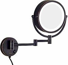 Kosmetikspiegel, Wandspiegel, LED-Schminkspiegel,