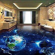 Kosmische Tapete für Kinderzimmer Galaxy Earth 3D
