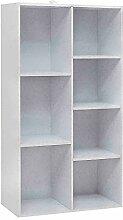 Kosoree Bücherregal Standregal 7Fächer