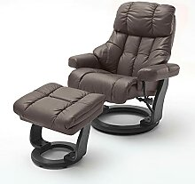 Kosoree Relaxsessel Leder braun Fernsehsessel mit