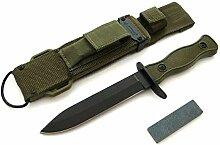 KOSxBO® Elite Militär Survival Outdoor Messer -