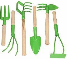 KOTARBAU® Gartenwerkzeug – Satz 6tlg. Mini