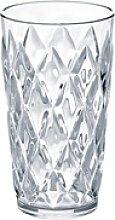 KOZIOL Becher Crystal L Transparent, Kunststoff