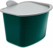Koziol BIBO Abfall Behälter, Kunststoff, Emerald