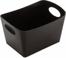 Koziol - Boxxx S Aufbewahrungsbox, schwarz