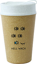 KOZIOL Coffee-to-go-Becher ISO TO GO HELL WACH, (1