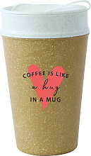 KOZIOL Coffee-to-go-Becher ISO TO GO LIKE A HUG IN