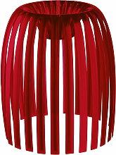 Koziol - Josephine Lampenschirm M, transparent rot