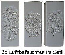 KP 3X Wasserverdunster Luftbefeuchter Keramik