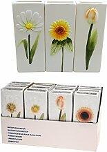 KP Wasserverdunster Luftbefeuchter Keramik Blumen