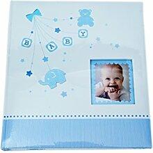 KPH Babyalbum Baby Start -blau Baby Fotoalbum Junge
