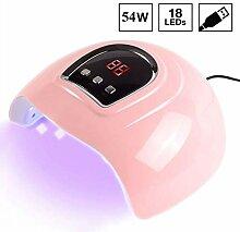 KPTKP UV-LED-Nagel-Lampe 54W UV