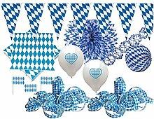 KPW XXL 331 Teile Bavaria Party Deko Set