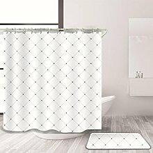 KQS-XYT Badezimmer Dekor Duschvorhang und Bad