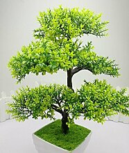 KQS-XYT Simulation Bonsai fünf Kiefer Nadeln