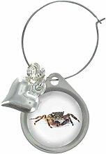Krabbe Bild Design Weinglas Anhänger mit schicker Perlen