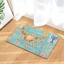 Krabben Hummer Mint Dekor Büro Foyer Halle