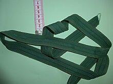 Kräuselband grün 12 Meter Gardinenband