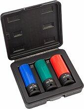 Kraft-Schoneinsätze 3tlg für Alu-Felgen 17mm
