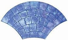 Kraft Werkzeug CC141europäischen Fan Cobblestone Textur Matte