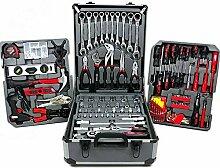 KRAFT WORLD Werkzeugkoffer Werkzeugtrolley mit