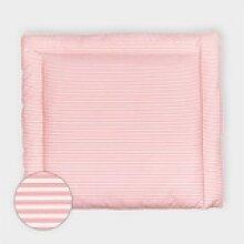 KraftKids Wickelauflage Streifen rosa, extra Weich