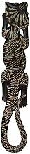 Kragenechse zum Aufhängen 100cm Afrika Dekoration