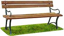 Krakwood Gartenbank, Terrassenmöbel, für