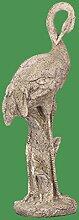 Kranich Justus grau 61 cm (913861) Gartenfigur