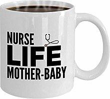 Krankenschwester Becher Geschenk für Mutter Baby