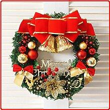 Kranz-Weihnachtsdekoration-hängende