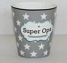Krasilnikoff - Becher, Tasse - 'Super Opa'