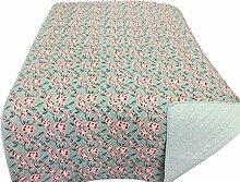 Krasilnikoff - Decke, Quilt, Tagesdecke - Pink