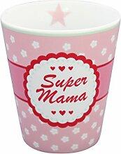 krasilnikoff Happy Becher Super Mama