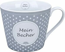 Krasilnikoff - Happy Cup - Becher, Tasse mit