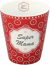 Krasilnikoff HM358 Mug/Becher/Tasse - Super Mama -