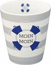Krasilnikoff HM369 Mug/Becher/Tasse - Moin, Moin -