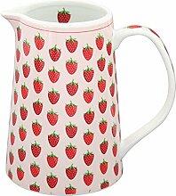 Krasilnikoff - Krug/Milchkrug/Saftkrug - Erdbeeren