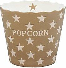 Krasilnikoff - Popcorn Schale, Schüssel - Taupe