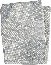 Krasilnikoff Quilt Decke Grey Patchwork