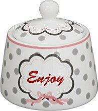 Krasilnikoff SGB41 - Happy Jar - Zuckerdose -