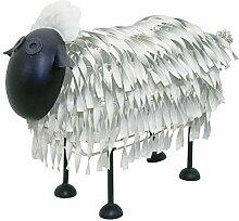 Kreatif Gartendekoration Schaf aus Kraftpapier,